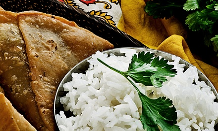 $11 for $20 Worth of Lunch or an Indian Dinner for Two at Arka