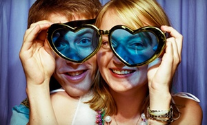 Laci's PhotoBooth: Three- or Four-Hour Photo-Booth Rental Package From Laci's PhotoBooth (Up to 63% Off)