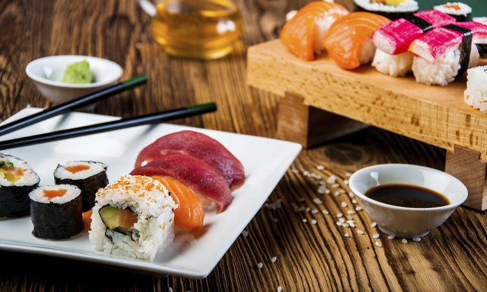 Soya Sushi - Oceanfront: $40 Worth of Sushi and Japanese Cuisine at Soya Sushi Bar & Bistro