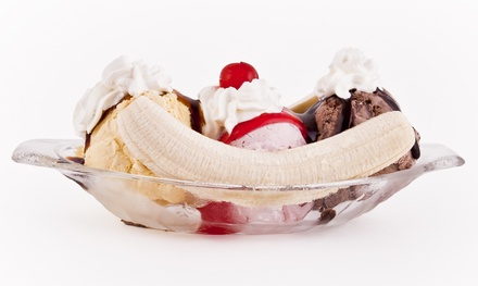$12 for Two Groupons, Each Good for $10 Worth of Ice Cream and Treats at Sh-booms ($20 Total Value)
