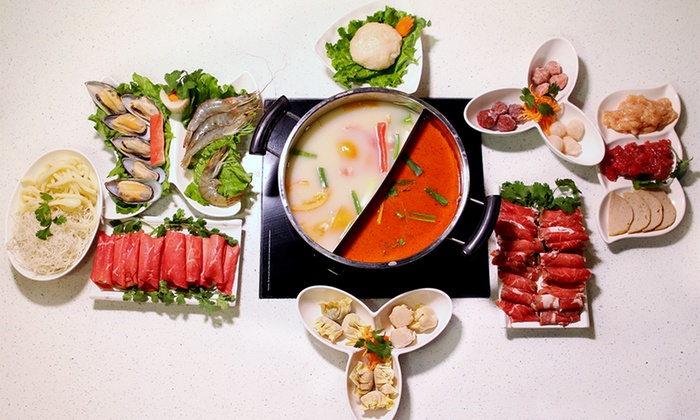 Happy Cow Hot Pot - Tukwila Urban Center: $12 for $20 Worth of Hot-Pot and Chinese Food at Happy Cow Hot Pot