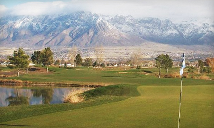 Toad's National Golf Course - Marriott - Slaterville: Golf Pass for 3 or 5 Nine-Hole Rounds with Range Balls at Toad's National Golf Course in Ogden (Up to 54% Off)