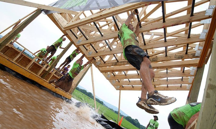 Running Dirty - Crumland Farms: $59 for Entry for One in Obstacle-Filled Mud Run from Running Dirty on Saturday, August 9 ($109 Value)