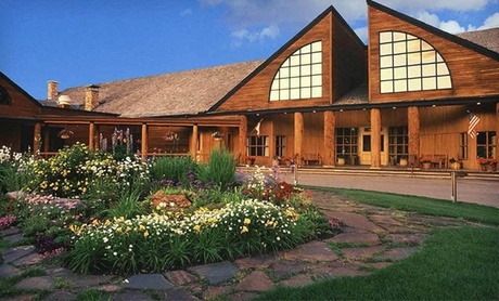 Lodge near Glacier National Park Wilderness