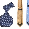 Republic Men's Woven Microfiber Ties