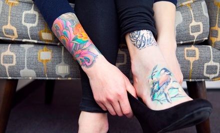 One or Three Hours of Tattooing at Hidden Addiction Tattoo Studio (Half Off)