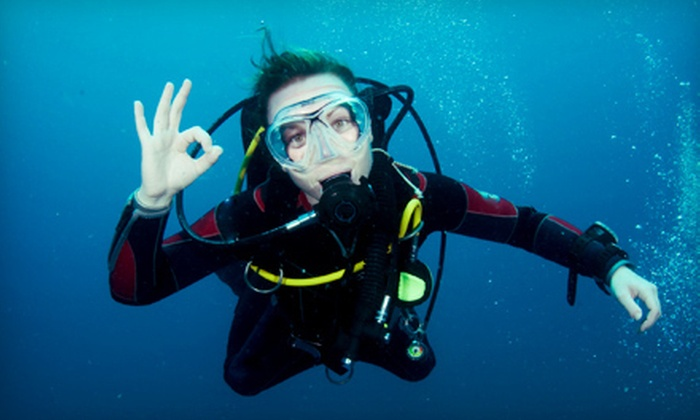 Underwater Connection - Vista Grande: Discover Scuba Class with Equipment for Two or Four or $10 for $20 Worth of Scuba Gear from Underwater Connection