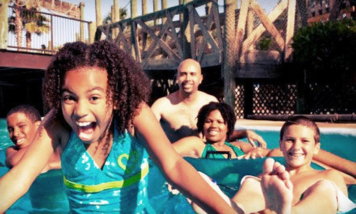 Andy Alligator's Water Park - The Apples: Water-Park Outing for Two or Four at Andy Alligator's Water Park in Norman (Up to 53% Off)