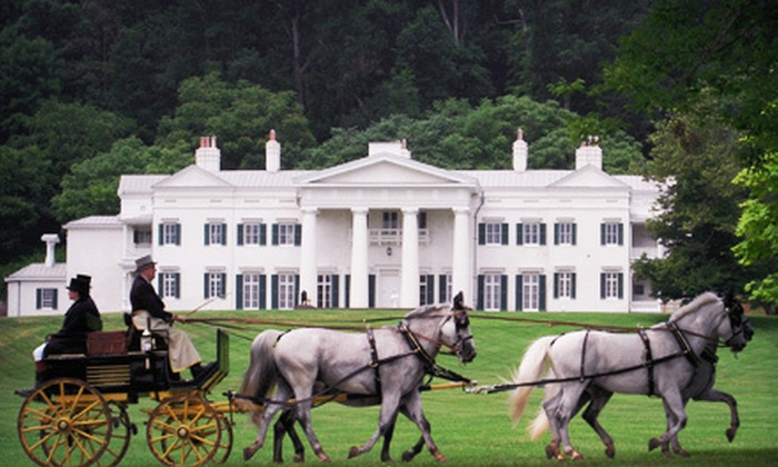 Morven Park - Leesburg: 90-Minute Historical Columns and Carriages Tour for Two or Four at Morven Park (Up to 50% Off)