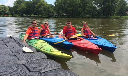 Up to 55% Off Kayak or Canoe Rental at Genesee Waterways Center