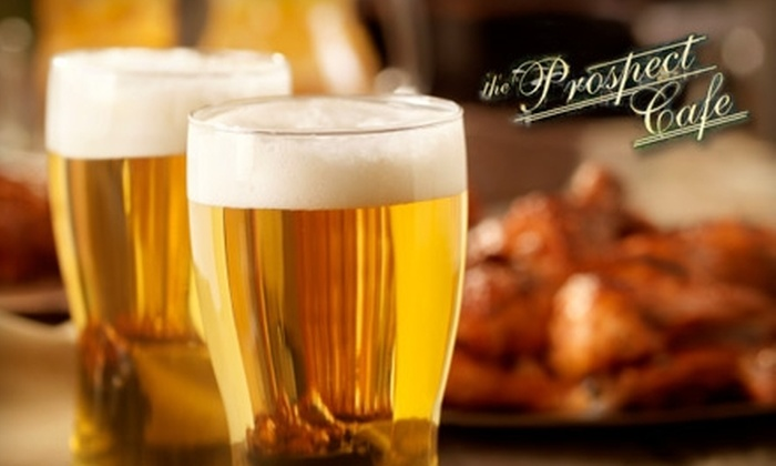 The Prospect Café - West Hartford: $10 for $20 Worth of Italian-American Lunch Fare and Drinks at The Prospect Café
