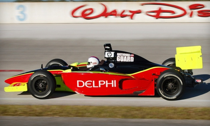 Indy Racing Experience - Walt Disney World Resort: $199 for Eight Laps of IndyCar Driving at Indy Racing Experience in Lake Buena Vista ($426.93 Value)