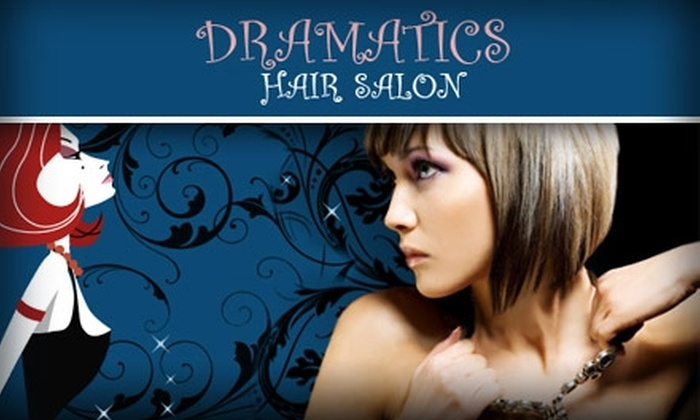 Dramatics Inc - Lakewood: $38 for a Master Haircut and Partial Highlights at Dramatics Hair Salon ($77 Value). Buy Here for the Haircut and Partial Highlights. See Below for Haircut only.