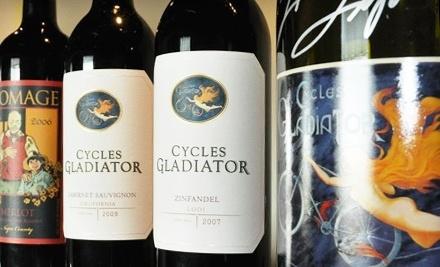Cycles Gladiator Wine Tasting - Cycles Gladiator Wine Tasting in Lodi