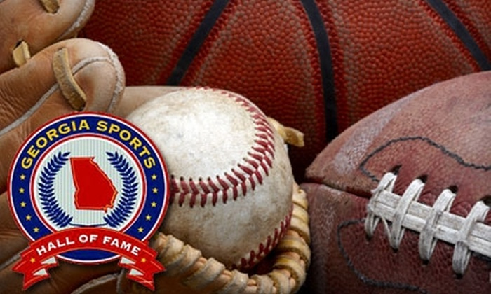Georgia Sports Hall of Fame - Macon: $15 for an Individual Membership ($35 Value) or $30 for a Family Membership ($75 Value) to the Georgia Sports Hall of Fame