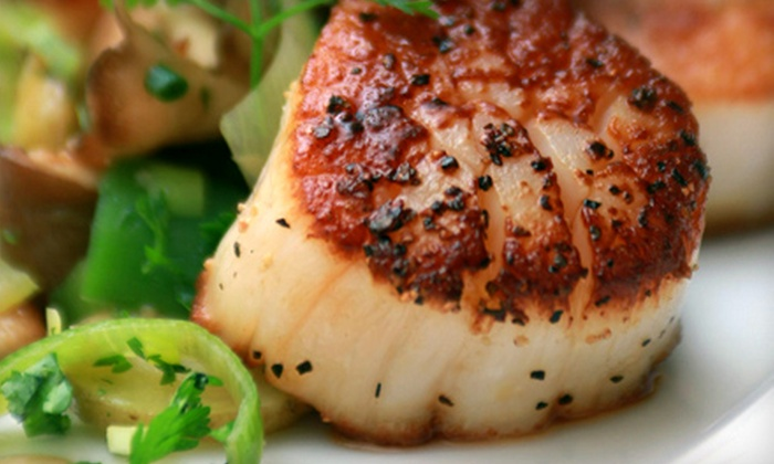 The C restaurant + bar - Monterey: $25 for $50 Worth of Seafood Cuisine and Drinks at The C restaurant + bar