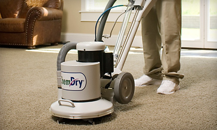 Doug's Chem-Dry - Columbia, MO: $79 for Three Rooms of Carpet Cleaning from Doug's Chem-Dry (Up to a $252 Value)