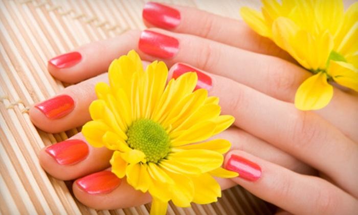 Casablanca Nail Salon - Hollywood Hills West,Studio City: Shellac Gel-Polish Manicure ($39 Value)
