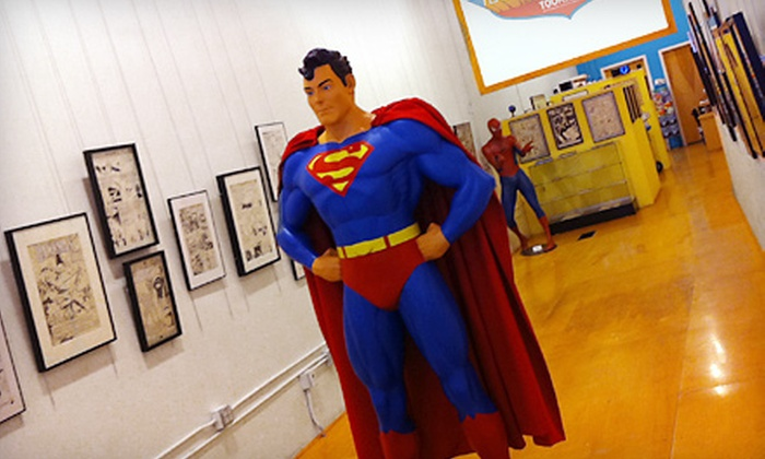 ToonSeum - Downtown: Art-Museum Outing for Two or Four or Annual Family Membership to ToonSeum