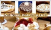 National Bakery and Deli - Multiple Locations: $7 for $15 Worth of Baked Goods and More at National Bakery & Deli