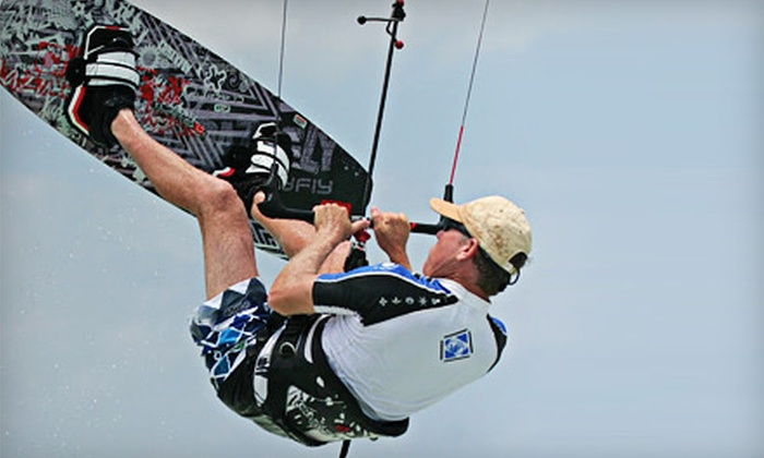 Kiteboarding Sarasota - Southbay Yacht and Racquet Club: Beginner-Kiteboarding Land Lesson or Land-and-Water Lesson from Kiteboarding Sarasota (Up to 51% Off)