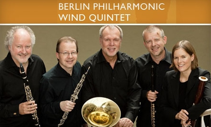Ford Center for the Performing Arts - Oxford: $14 for Orchestra-Level Ticket to the Berlin Philharmonic Wind Quintet Concert on October 6 at The Gertrude C. Ford Center in University, Mississippi ($28 Value)