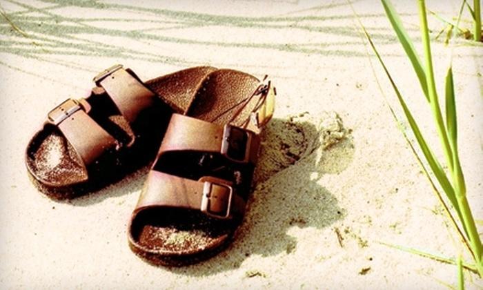 Birkenstock Footprints of Ventura - Ventura: $25 for $50 Toward Footwear and Accessories at Birkenstock Footprints of Ventura