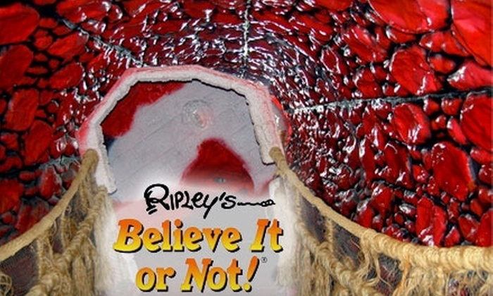Ripley's Believe it or Not! Odditorium - Grand Prairie: $8 for Adult Admission to Ripley's Believe It or Not! Odditorium