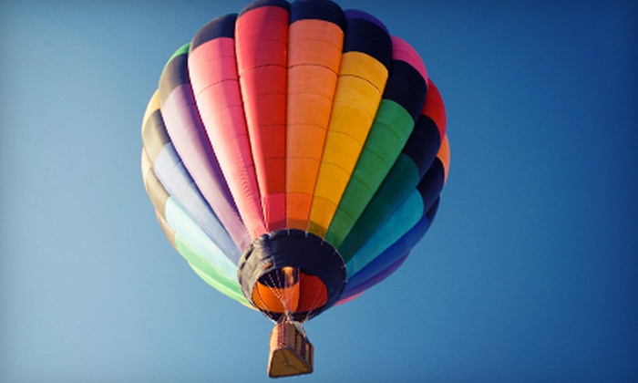 Morning Star Balloons - Park City: One-Hour Hot Air Balloon Ride and Champagne Toast for One or Two from Morning Star Balloons in Park City (Up to 40% Off)