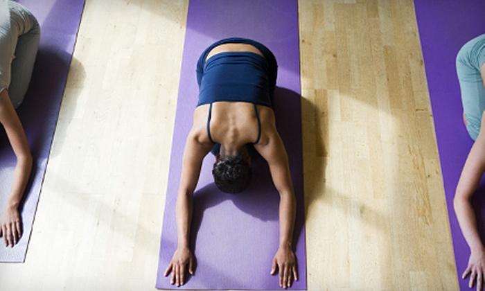 Hot Yoga Edwardsville - Glen Carbon: $15 for One Month of Unlimited Classes at Hot Yoga Edwardsville in Glen Carbon ($60 Value)
