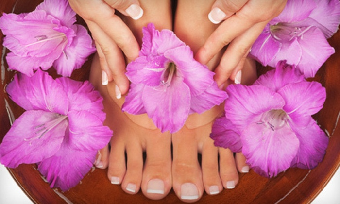 Vaccaro Angel Beauty International Spa - Multiple Locations: Mani-Pedi or Spa Package at Vaccaro Angel Beauty International Spa (Up to 86% Off). Two Locations Available.