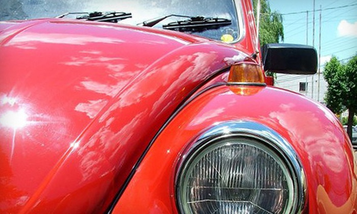 WaterLess Touch - Sausalito: $20 for Premium Exterior and Interior Mobile Car Wash from WaterLess Touch (Up to $45 Value)