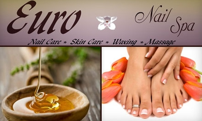 Euro Nail Spa - Multiple Locations: $25 for $50 Worth of Waxing Services at Euro Nail Spa