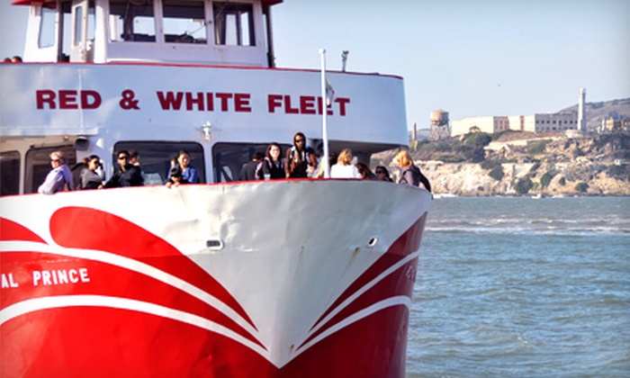 Red and White Fleet - Fisherman's Wharf: $24 for a Golden Gate Bay Cruise for Two from Red and White Fleet (Up to $48 Value)