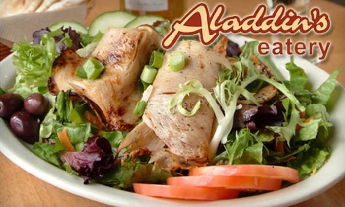 Aladdin's Eatery - Fairlington - Shirlington: $12 for $25 Worth of Lebanese-American Fare at Aladdin's Eatery