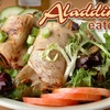 52% Off at Aladdin's Eatery