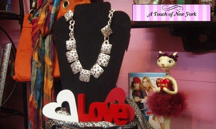 A Touch of New York - Prattville: $15 for $30 Worth of Jewelry, Purses, and Apparel at A Touch of New York in Prattville