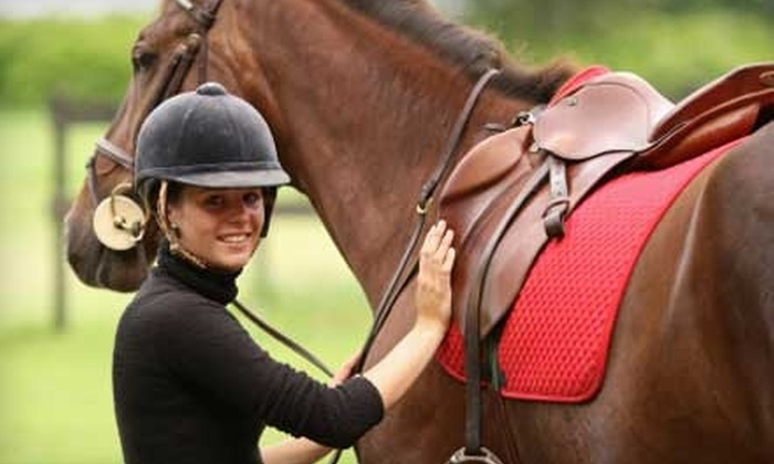 Black Creek Hill Farms - Elevation: $12 for a One-Hour Trail Ride at Black Creek Hill Farms (Up to $30 Value)