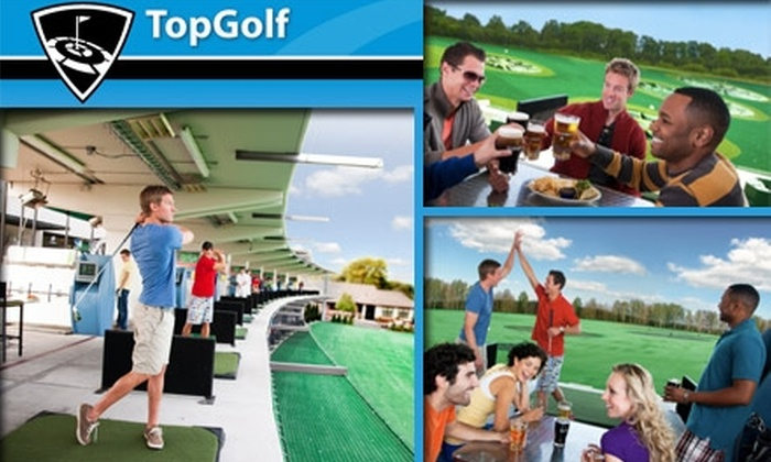 TopGolf - Rose Hill: $20 Worth of Microchip Driving Range Games and More at TopGolf