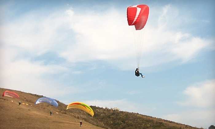 Fly Above All - Elings Park: $59 for Two Tandem Flights or an Introductory Paragliding Lesson at Fly Above All (Up to $125 Value)