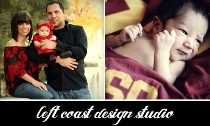 Left Coast Design Studio - Bakersfield: $55 for a Photo Shoot and Prints from Left Coast Design Studio (Up to $255 Value)