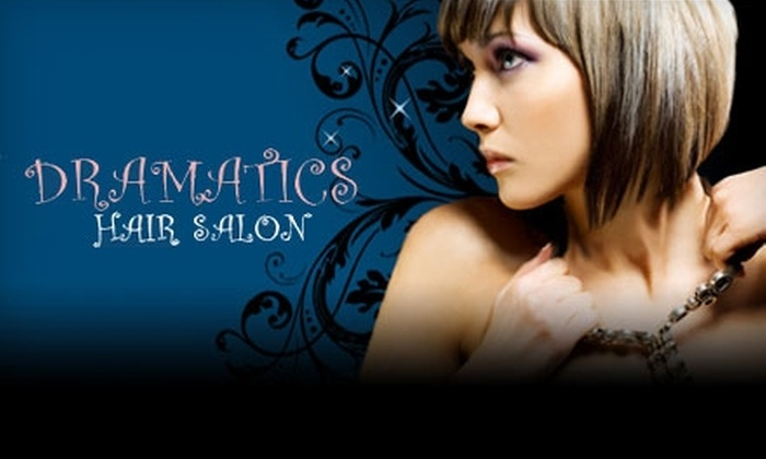 Dramatics Hair Salon - Lakewood: $17 for a Haircut (Up to $34 Value) or $39 for a Haircut and Partial Highlight (Up to $79 Value) at Dramatics Hair Salon in Lakewood