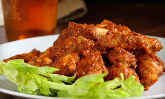 Sidelines Bar and Grill - Millvale: Meal for Two or Wings Meal Package at Sidelines Bar and Grill in Millvale
