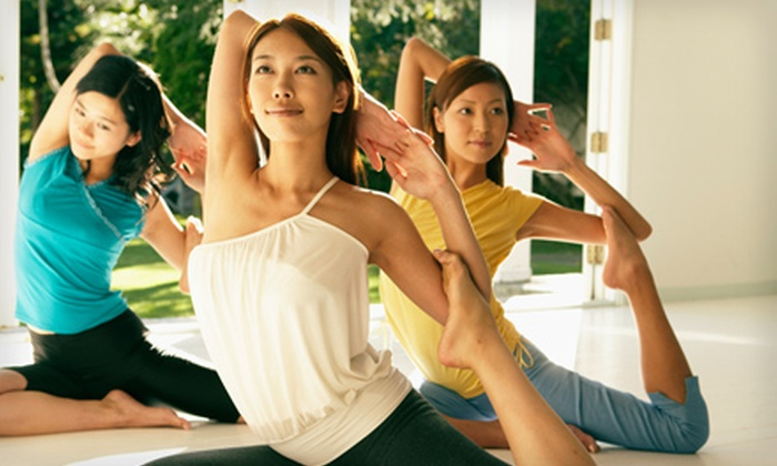Yoga Ah! - Northside: $30 for 30 Days of Unlimited Yoga Classes at Yoga Ah! ($105 Value)