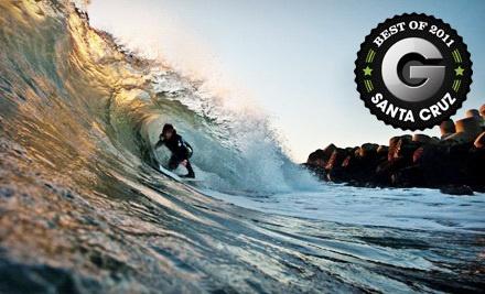 Group Surf Lesson for 1 Person (a $75 value) - Surf School Santa Cruz in Santa Cruz