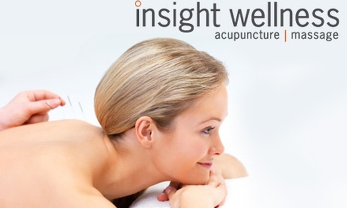 Insight Wellness - Dilworth: $59 for Two Acupuncture Sessions and Two 30-Minute Massages from Insight Wellness ($220 Value)
