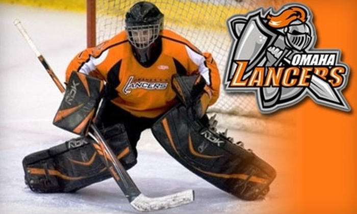 Omaha Lancers - Downtown Northeast: $10 for Two Second-Level Tickets to the Opening Omaha Lancers Game on Friday, October 1 ($28 Value)