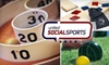 United Social Sports - DC - Multiple Locations: $25 for Participation in Bocce, Bar-Skee, Cornhole, or Shuffleboard League from United Social Sports (Up to $50 Value)
