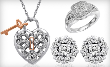 Heart-Shaped Lock-and-Key Necklace (a $150 value) - D. Geller & Son Jewelers in Smyrna