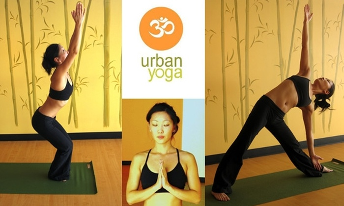 Urban Yoga - Encanto: $10 for 10 Consecutive Days of Classes at Urban Yoga
